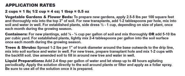 Neem Seed Meal Directions